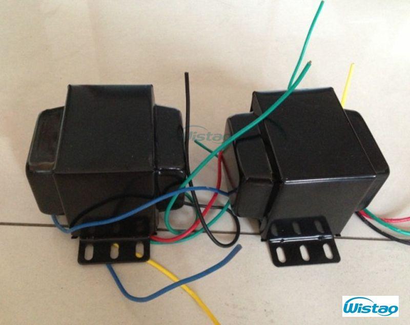 IWISTAO Tube Amplificateur Transformateur Kit pour 6P3P EL34 Tube Amp Y Compris 1 pc 160 W Power & 2 pcs Sortie transformateurs HIFI Audio