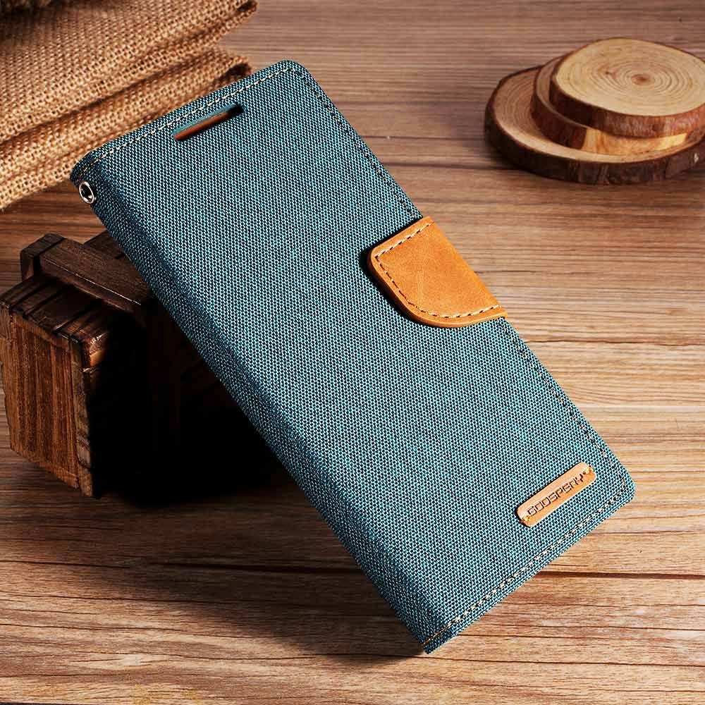 MERCURY GOOSPERY for Xiaomi Redmi Note 4 4X Case Canvas Phone Flip Leather Stand Cover Case for Xiomi Redmi Note 4 Fundas Capa