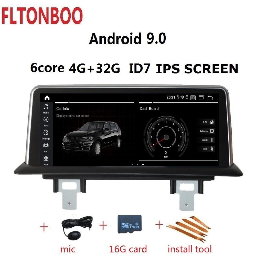 10,25 ''Android 8.1 Auto GPS Navigation Radio player ID7 für BMW 1 Serie 120i E81 E82 E87 E88 2G RAM 32G ROM 6 core