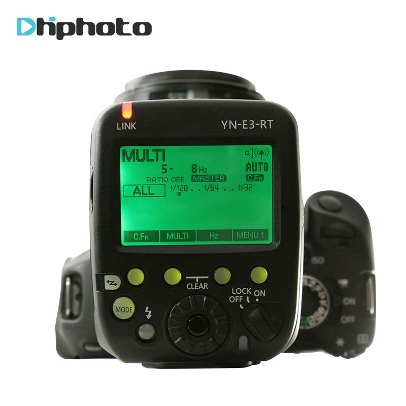 YONGNUO yn-e3-rt TTL Радио внезапный передатчик для вспышки Speedlite контроллер как st-e3-rt для Canon 600EX-RT/YONGNUO yn600ex-rt II