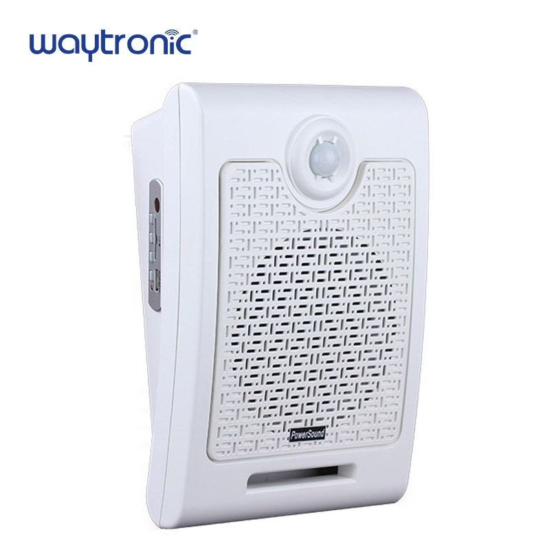 Supermarket Store Advertising Promotion Audio Speaker Voice Broadcast Device Human Body Motion Sensor Activated Sound Player
