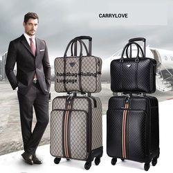 CARRYLOVE mode bagages série 16/20/22/24 pouce à main + Bagages À Roulettes Spinner marque Voyage Valise