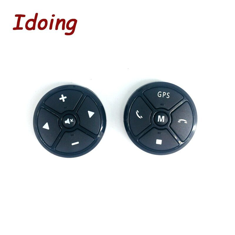 IDoing Car Steering Wheel Button Remote Control DVD/2 Din Android Bluetooth Wireless Universal Remote Control+GPS Navigation