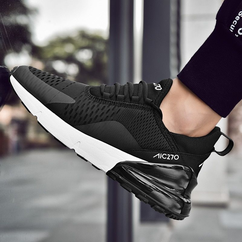 Beita New Running Shoes for Men Jogging Sneakers for Women Air Sole Breathable Mesh Lace-up Outdoor Training Fitness Sport Shoes