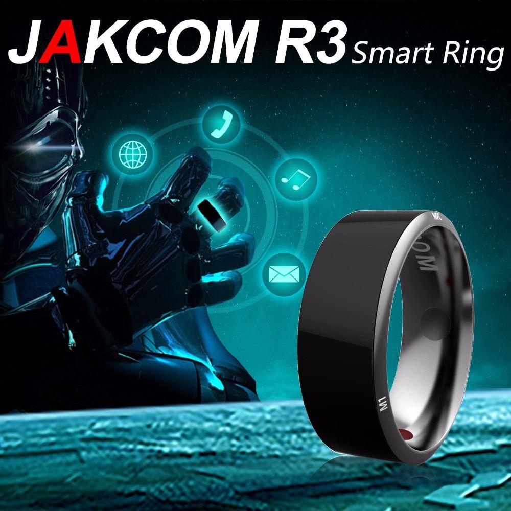Jakcom R3 anneau intelligent 3-preuve App activé technologie portable anneau magique pour Android Windows NFC téléphone accessoires intelligents