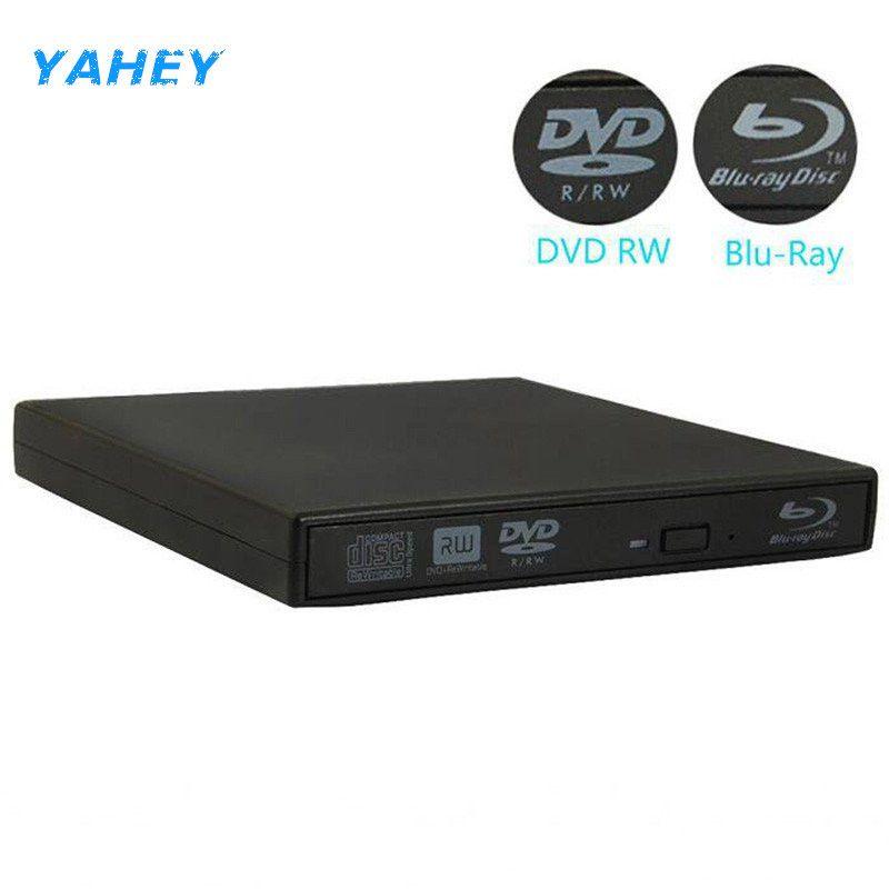 Bluray Lecteur Externe USB 2.0 DVD Lecteur Blu-ray 3D 25g 50g BD-R BD-ROM CD/DVD RW Graveur écrivain Enregistreur pour Ordinateur portable PC