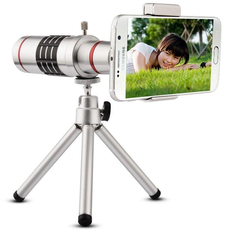 2018 nouveau 8x 12x 18x monoculaire téléphone HD Télescope Vision miroitement de Nuit Poche Portable Téléobjectif En Plein Air Chasse monoculaire