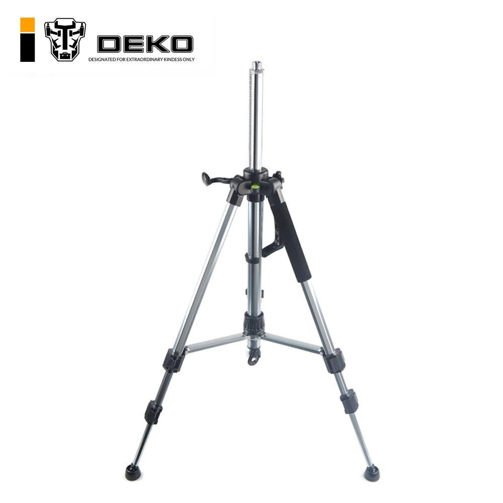 DEKO 120 cm Niveau Laser Trépied Nivel Laser Trépied Professionnel Trépied Carbone pour Niveau Laser En Aluminium Réglable Trépied