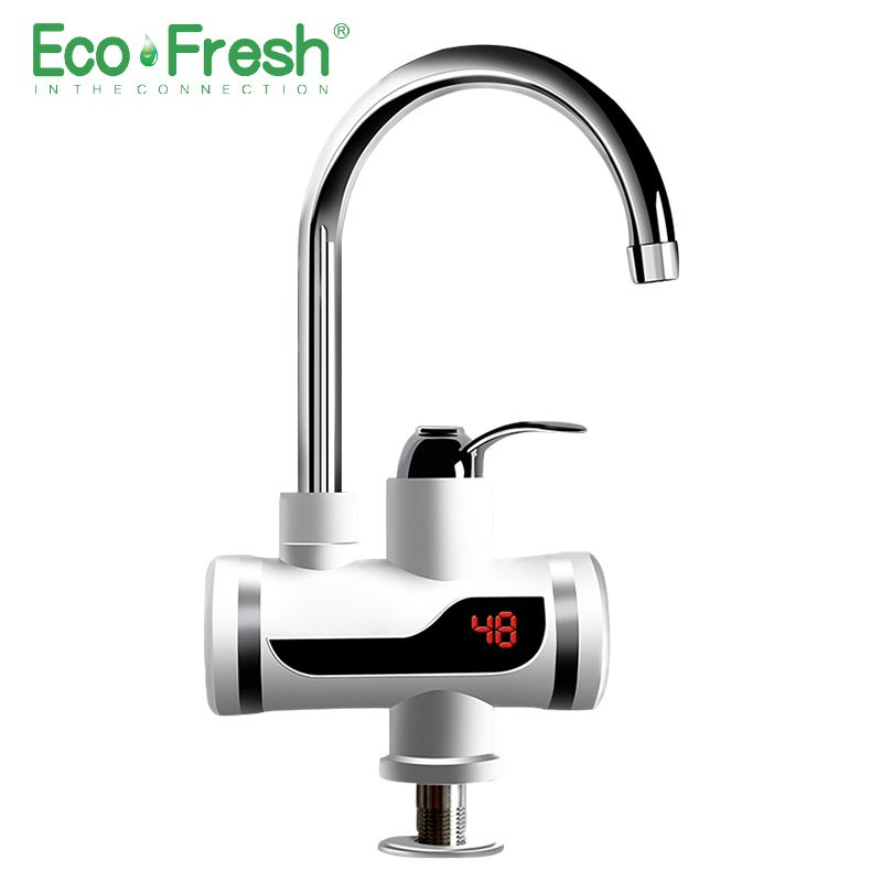 Ecofresh Electric Faucet Instant Water Heater Tap Faucet Heater Cold Heating Faucet Tankless Instantaneous Water Heater