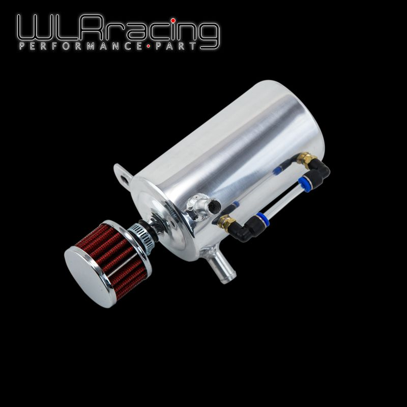 WLRING STORE- UNIVERSAL BREATHER TANK&OIL CATCH CAN TANK WITH BREATHER FILTER ,0.5L  WLR-TK10