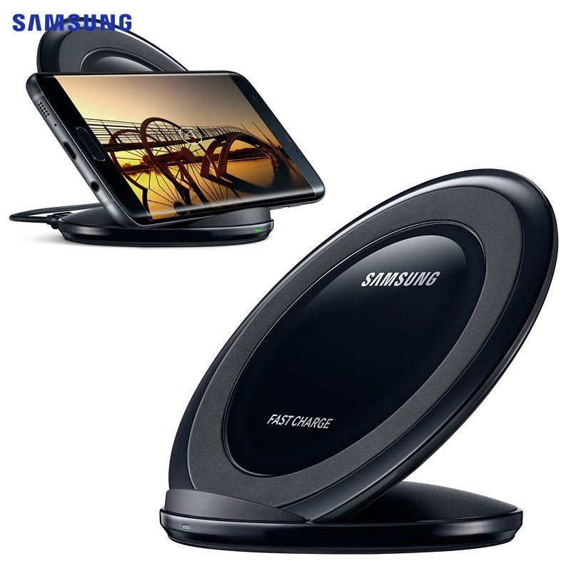 100% Original Samsung EP-NG930 Fast Charging Pad Wireless Charger For Samsung GALAXY S7 edge G9350 G9300 S8 G9500 Note8 N950