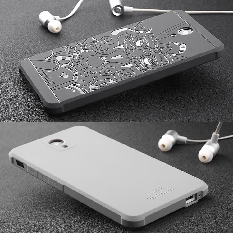 Cas de téléphone Pour xiaomi redmi note 2 Haute qualité de silicium dur Protecteur couverture arrière pour Xiaomi Redmi Note2 Mobile téléphone logement
