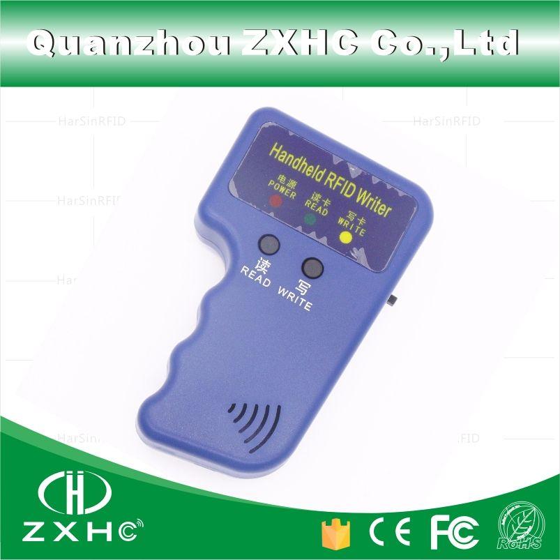 Duplicateur tenu dans la main de lecteur de copieur de 125 KHz RFID de cartes d'identification utilisé pour la copie T5577 EM4305