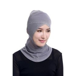 Chic Muslim Hijabs Women Under Scarf Hat Cap Bonnet Ninja Hijab Islamic Neck Cover 12 Color