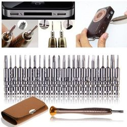 Mini Precision Screwdriver Set 25 in 1 Electronic Torx Screwdriver Opening Repair Tools Kit for iPhone Camera Watch Tablet PC