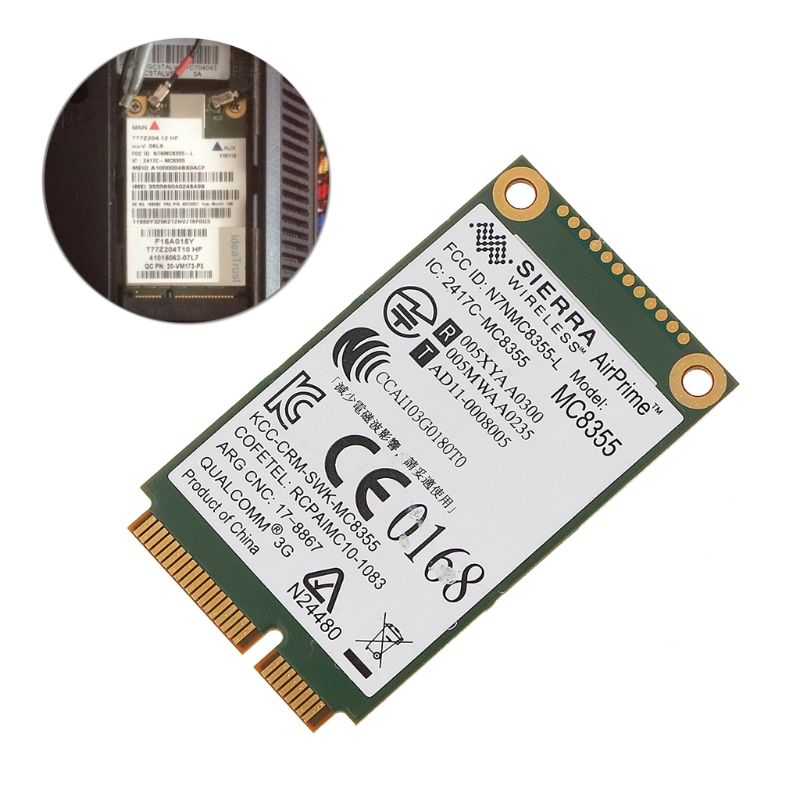 60Y3257 Gobi3000 MC8355 3G WWAN Card GPS For Lenovo Thinkpad W530 X230 T420 X220-PC Friend