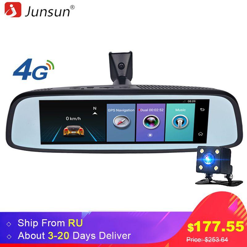 Junsun K755 Car Special Mirror DVR Camera 4G Android 7.86