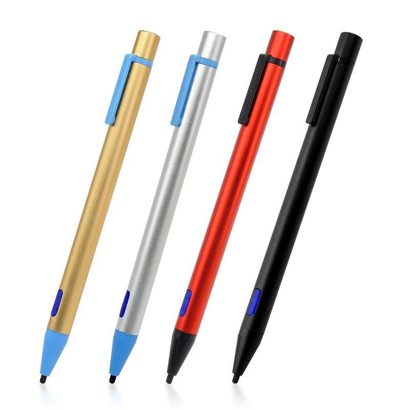 2.0mm Nib Universel Actif Stylet Avec USB De Charge Fil Écran Tactile Stylo pour iPhone iPad Samsung Tablet PC