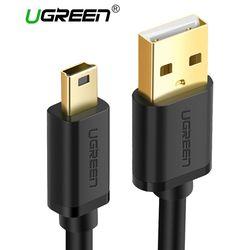 Ugreen Mini USB Câble Mini USB à USB Rapide Données Chargeur Câble pour MP3 MP4 Lecteur Voiture DVR GPS Appareil Photo Numérique HDD Mini USB