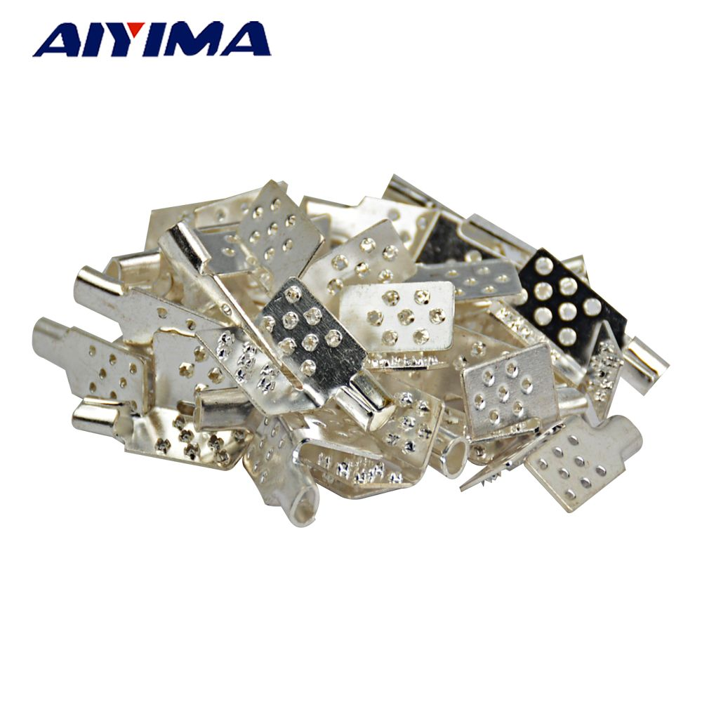 Aiyima 40pcs New Clamp Connector For Carbon Heating Film Warm Flooring