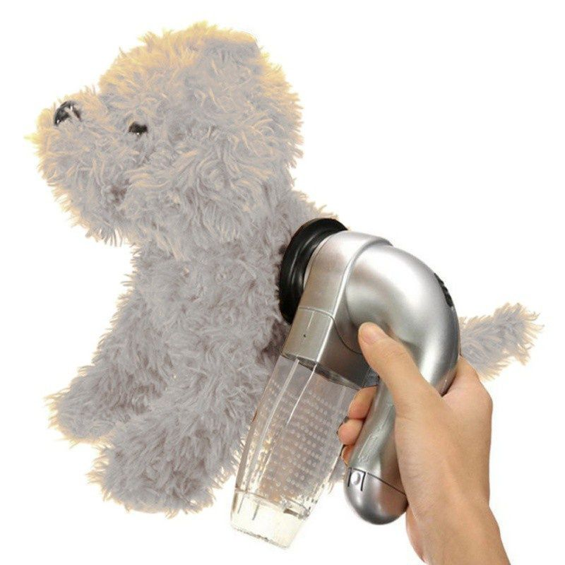 Electric Pet Cat Dog Vacuum Fur Cleaner Hair Remover Puppy Vac Fur Trimmer Grooming Tool Pet Dog Accessories Dcpet