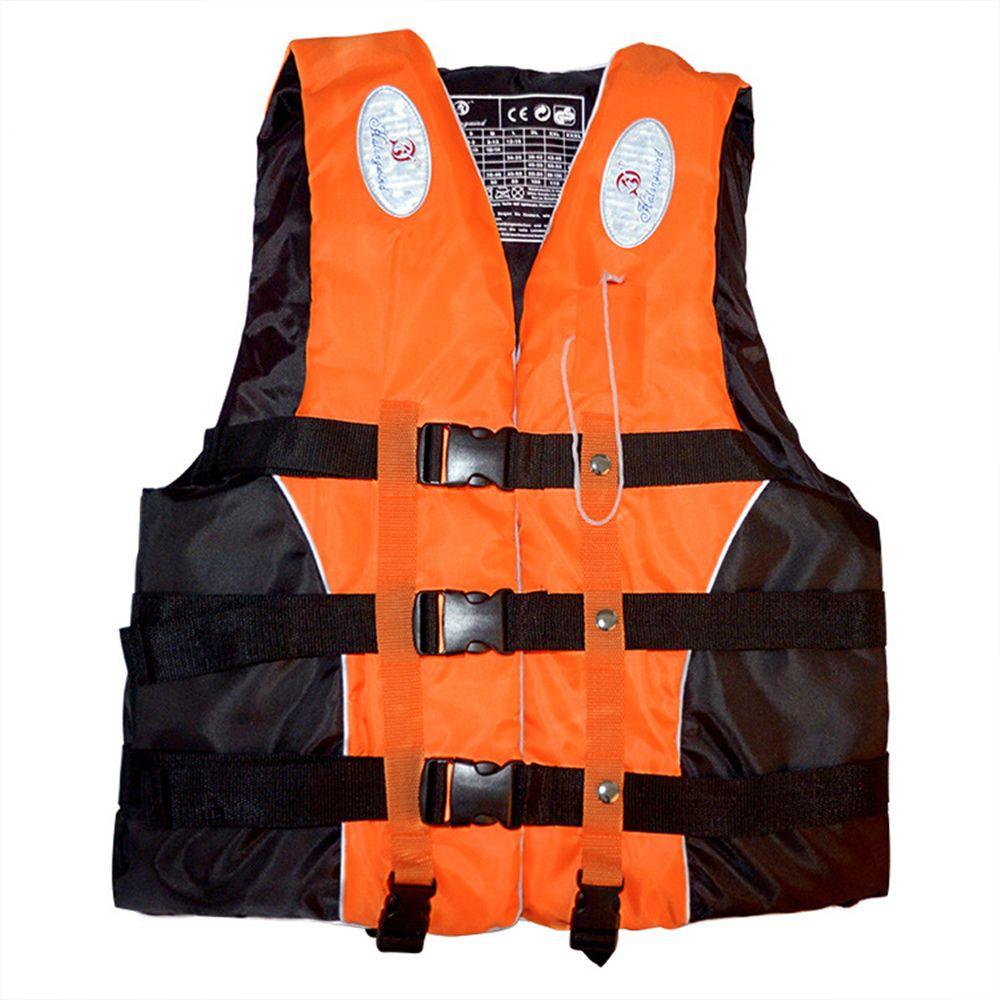 Natation nautisme Ski dérive gilet de sauvetage avec sifflet M-XXXL tailles Sports nautiques homme enfants veste Polyester adulte gilet de sauvetage veste