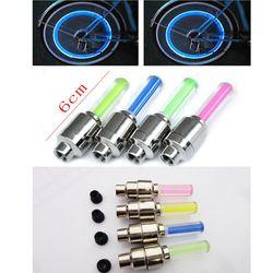 LED Sepeda Lampu Sepeda Cahaya Baru Menginstal pada Sepeda Roda Ban Katup's Sepeda Aksesoris Bersepeda Bycicle Led Cahaya