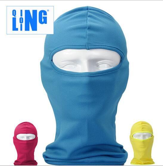 Army Green Cycling Ski Neck protecting Outdoor Balaclava Full Face Mask Protection Luminous skeleton CS Navy Seals