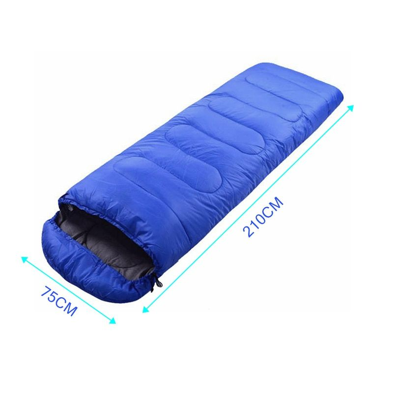 Useful Portable Lightweight Envelope Sleeping Bag with Compression Sack for Camping Hiking Backpacking B2Cshop JY19