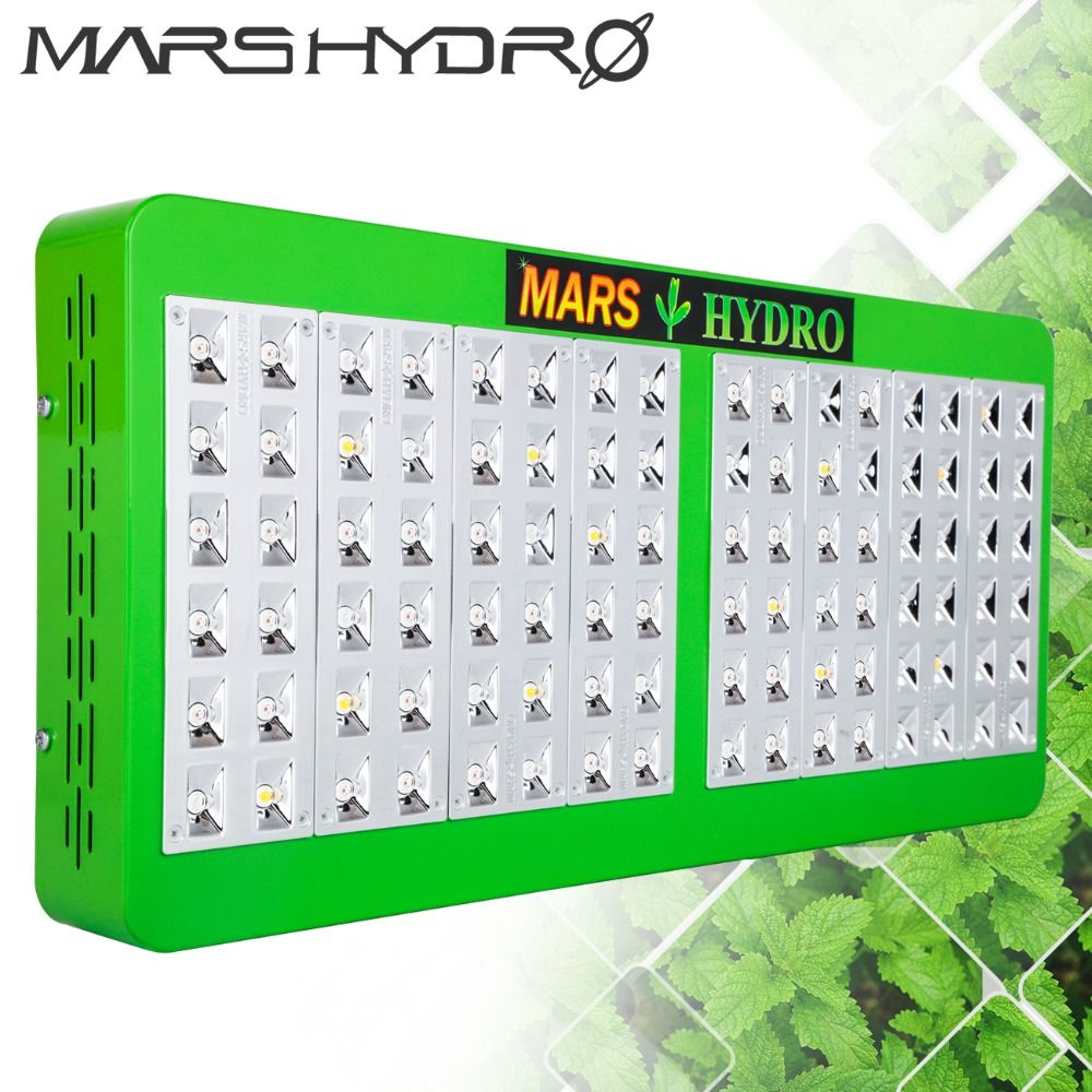 Mars Hydro Reflector 480W LED Grow Light Full Spectrum Indoor Plants Hydroponics Grow LED for Grow Box
