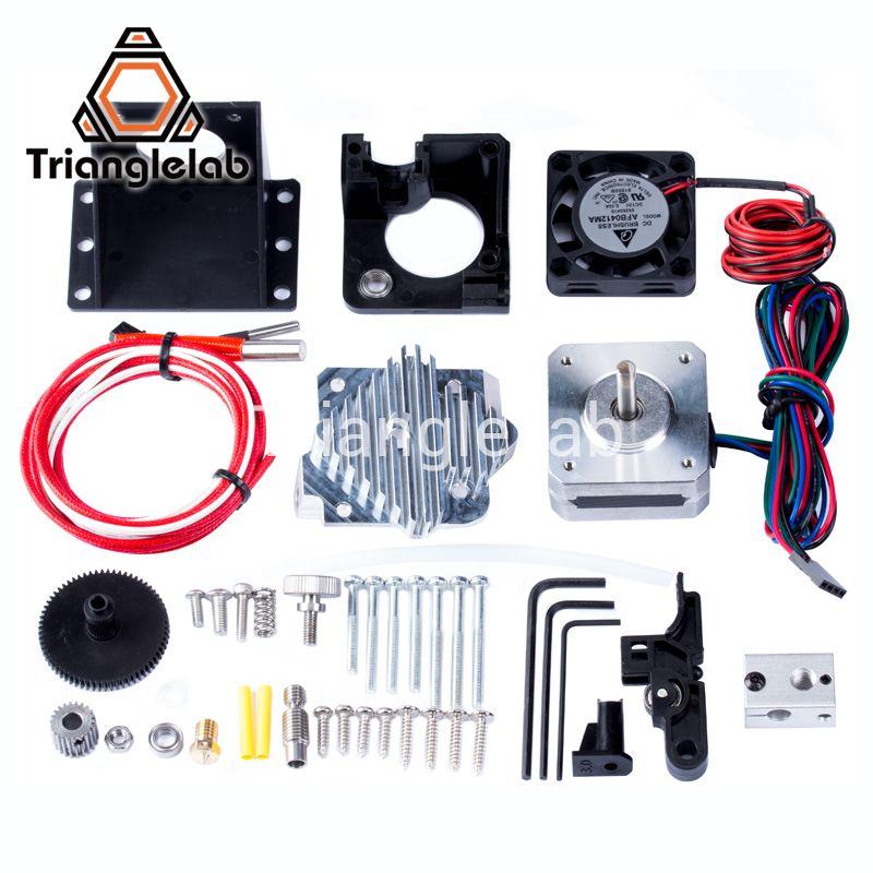 Trianglelab 3d printer Titan Aero V6 hotend extruder full kit titan extruder full kit <font><b>reprap</b></font> mk8 i3 Compatible TEVO ANET