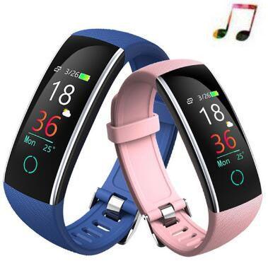 Bracelet à puce c20 de fréquence Cardiaque Montres Mp3 Smart Bracelet fitness tracker Smart bande reloj PK xiomi Pk honor bande 4 pk miband 3