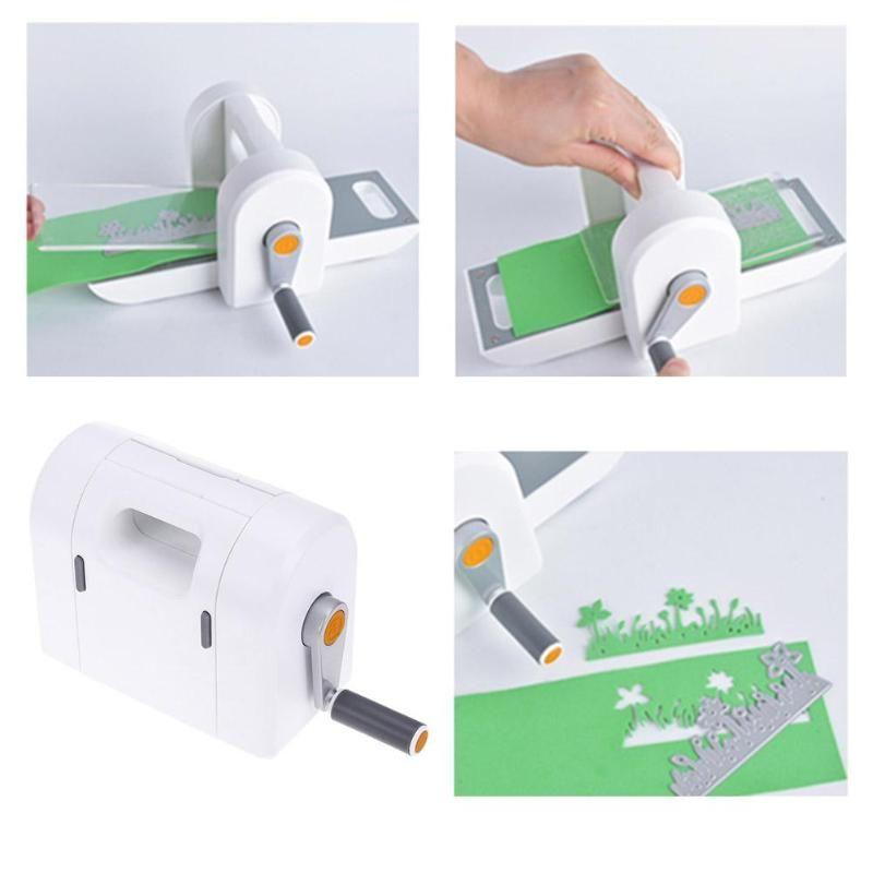 Die Cutting Embossing Machine Scrapbooking Cutter Piece Die Cut Paper Cutter Die-Cut Machine Home DIY Embossing Dies Tool