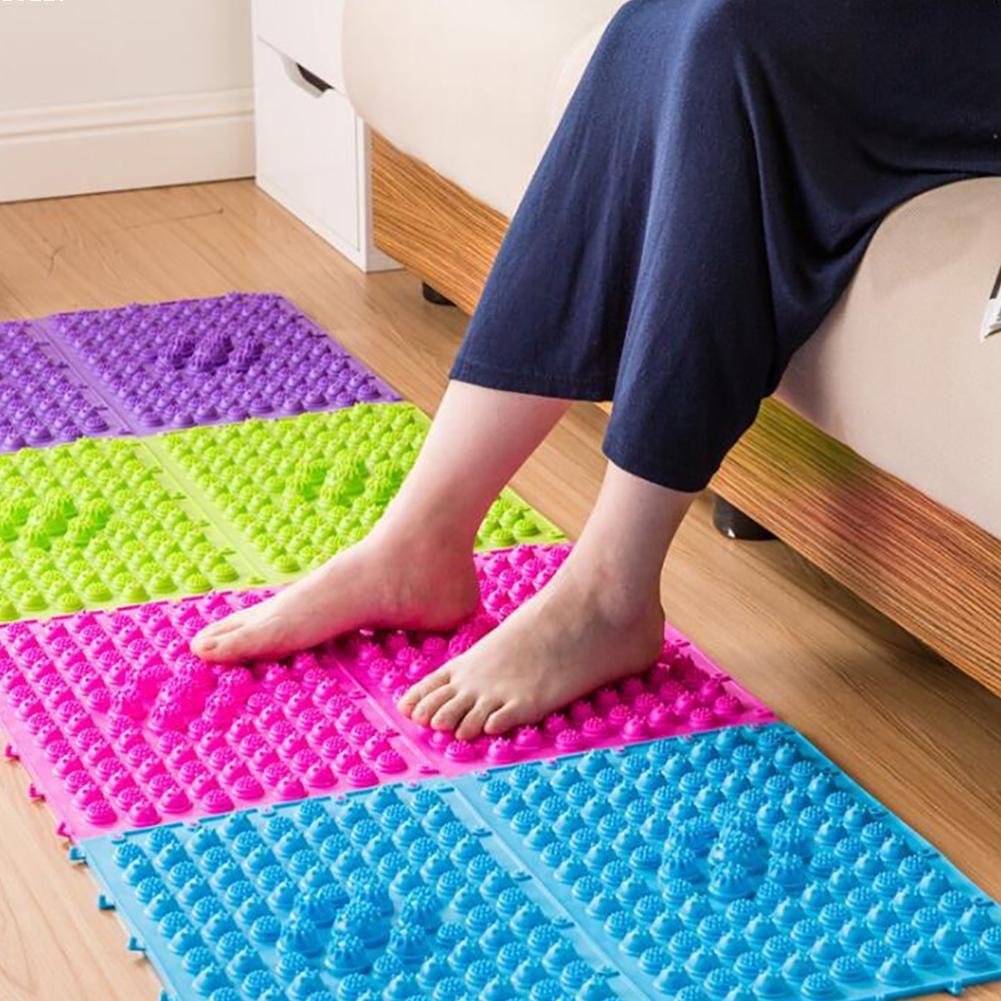 Massage des pieds Pad Orteil Pression Plaque Explosion Cailloux Shiatsu Couverture Tapis De Yoga porte tapis 29x39 cm A05