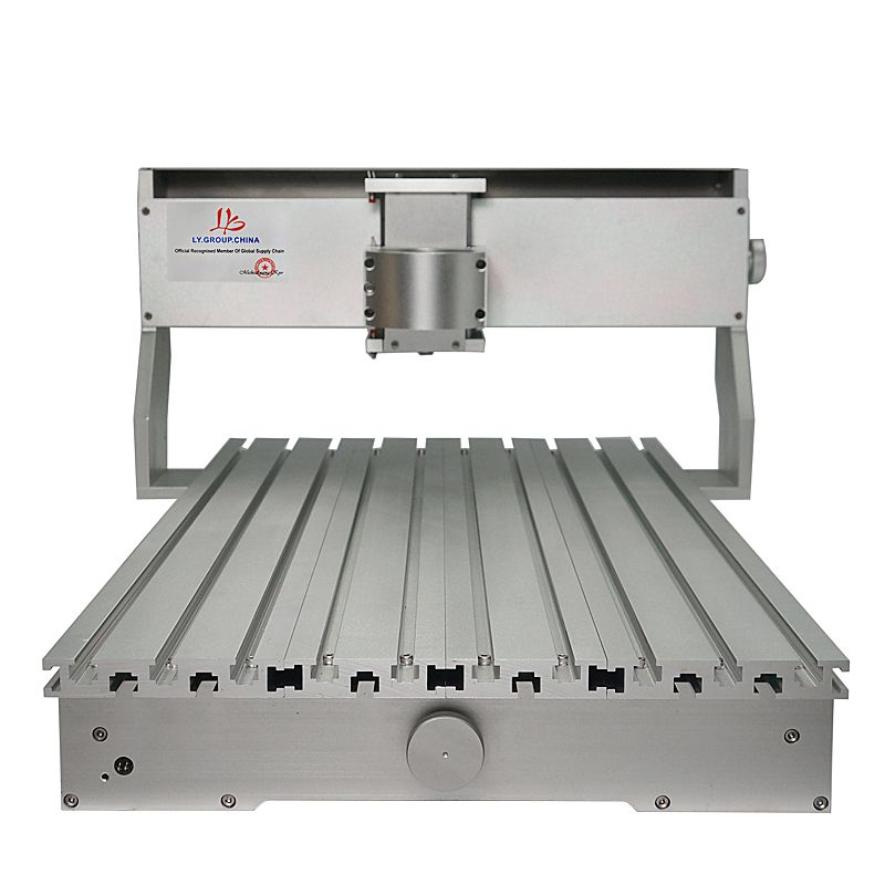 Hohe Qualität CNC Rahmen 3020 3040 6040 CNC Maschine Rahmen Kit Luxus Fräsen Holz Router Teil Mit Stepper Motor Für DIY Hobby