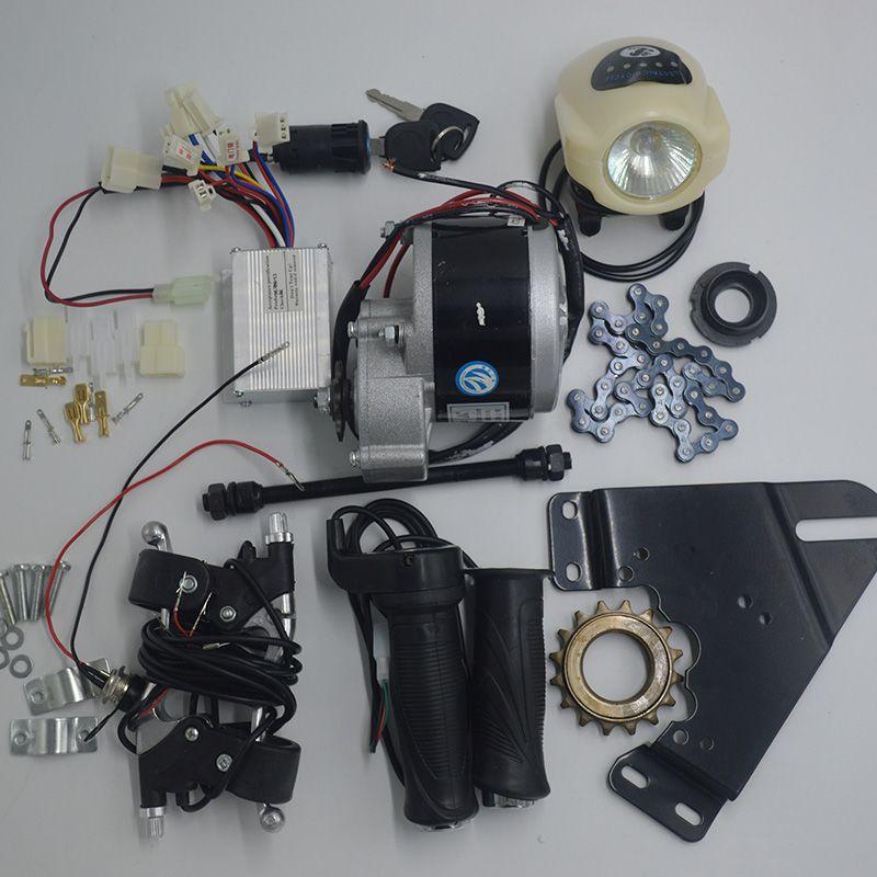 DIY 22 -28 rad 24 V 350 Watt DC Bürstenmotor elektromotoren für fahrräder, elektrische bike kit, elektrische fahrrad umbausatz