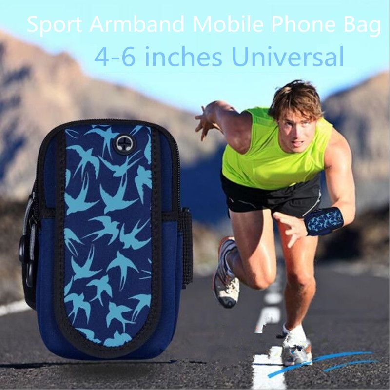 Universal Phone Sport Running Armband Holder Arm Band Bag Case for iphone X 8 7 6S 5S ipod Touch for Samsung for Sony HTC Xiaomi