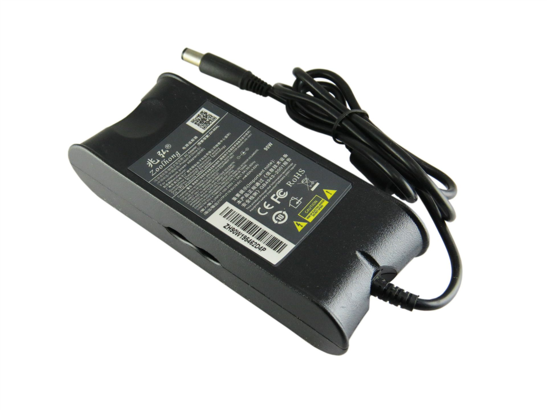 19.5V 4.62A 90W Ac Power Adapter Charger For Dell Laptop Ad-90195D Pa-1900-01D3 Df266 M20 M60 M65 M70 7.4Mm * 5.0Mm
