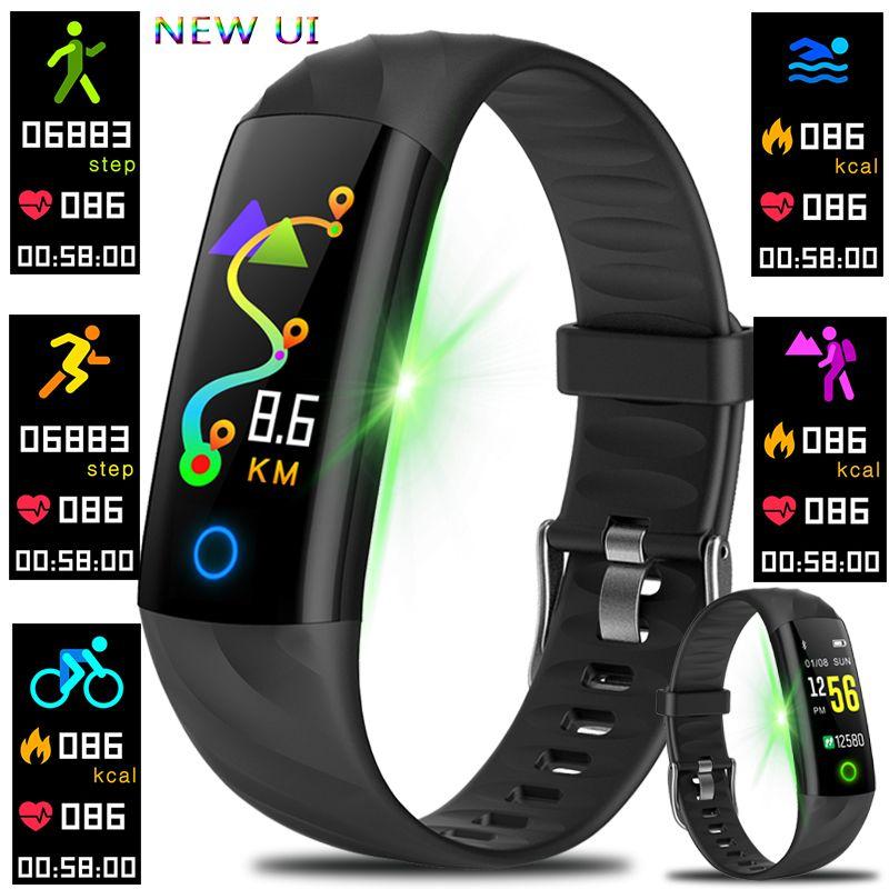 Smart Bracelet Watches Pedometer Heart Rate Monitor Blood Oxygen Fitness Tracker Sport Watch Swimming Waterproof Smart Wristband