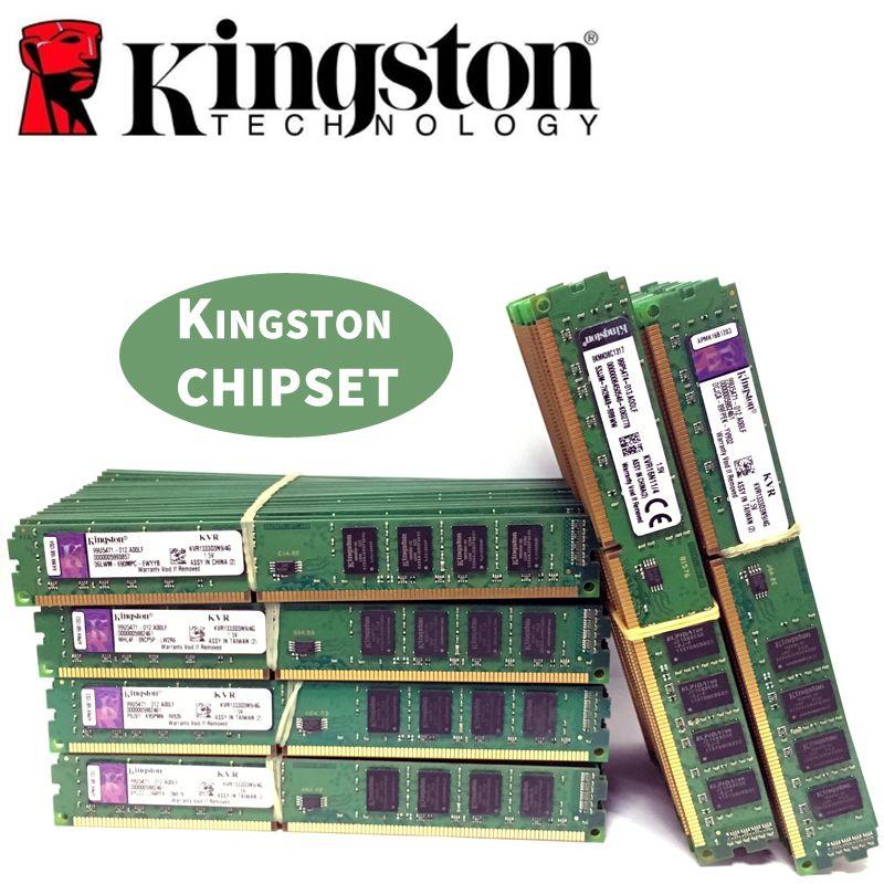 Kingston Ram DDR3 2GB 4GB PC3 1600 1333 MHz Desktop Memory 240pin 2G 4G 8G 1333mhz 1600mhz 10600 12800 Module DIMM RAM
