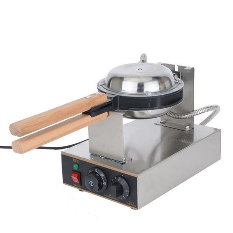 Free ship Best professional electric Chinese Hong Kong eggettes puff waffle iron maker machine bubble egg cake oven 220V/110V