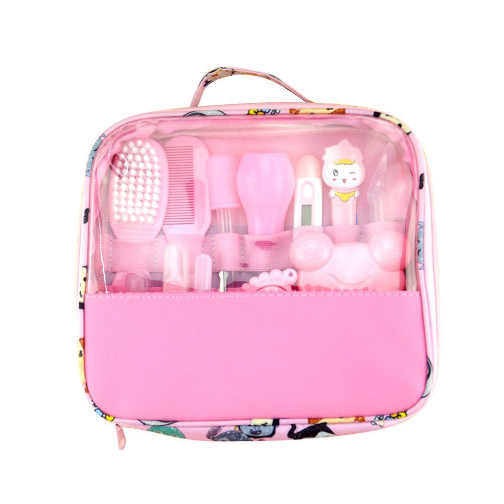 13 pièces/ensemble multifonction nouveau-né bébé enfants ongles cheveux soins de santé thermomètre toilettage brosse Kit accessoires de santé livraison directe