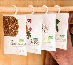 Натуральный Освежители воздуха шкаф духи ароматерапия плесени моли для дома осушенный очистки воздуха мини пакетики 6 Вкус