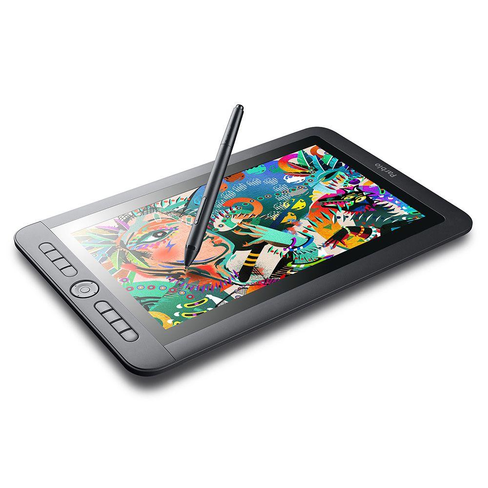 Parblo Coast13 13,3 IPS 1920x1080 Graphic Tablet Zeichnung Monitor mit 8 verknüpfung Tasten und Batterylese Passive Stift + typ C Kabel