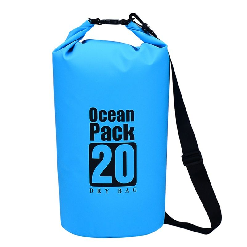 5L 10L 20L waterproof bag dry bag Sack Pouch Canoe Portable Dry Bags backpack for Boating Kayaking Camping Rafting HikingBicycle