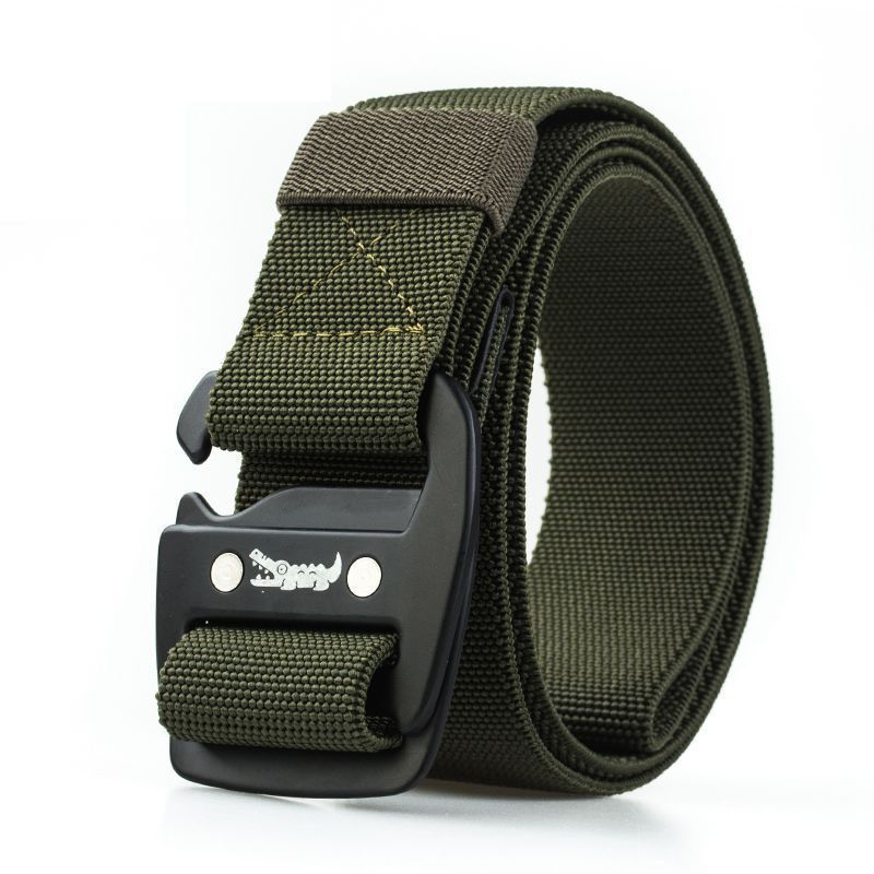 New 3.8cm Many Color Casual Nylon Weave Belt 120cm Fashion Light Strongest Casual Belt For Men And Women Casual Belt HE2651