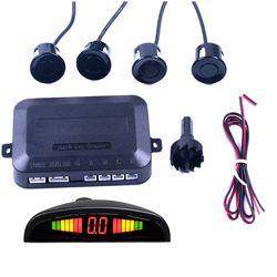 1 Unidades Kit de Sensor de Aparcamiento LED Display 4 Sensores Del Coche para todos los coches Inversa Monitor de Reserva Del Radar del Sistema de Asistencia