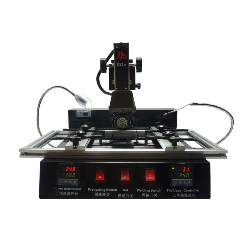 LY M770 infrared BGA mother board repair machine high cost performance two temperature zones ship to RU no tax