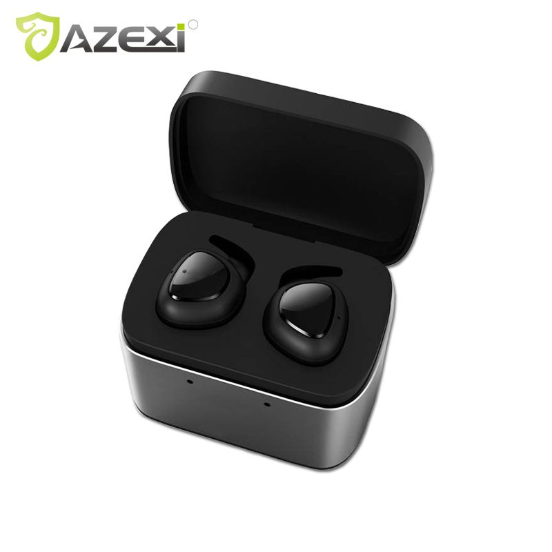 Azexi Bluetooth Earphone BH11 TWS True Wireless Earbuds Bluetooth 4.1 Stereo Earphones for iPhone with Charger Box Portable