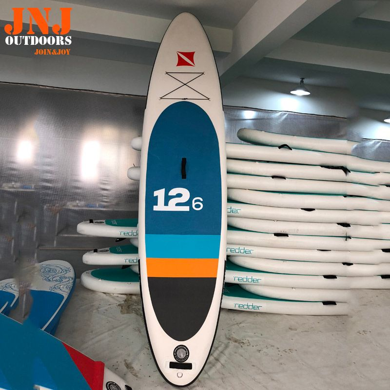 12'6 inflatable sup board isup with bags and accessories